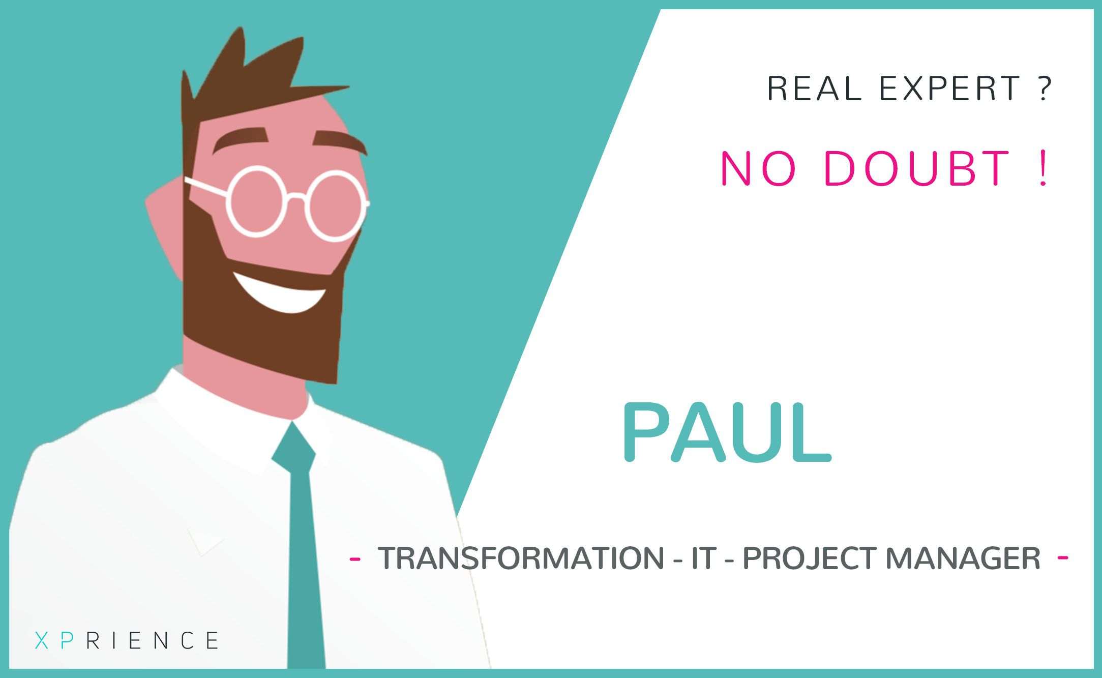 transformation - IT - project manager